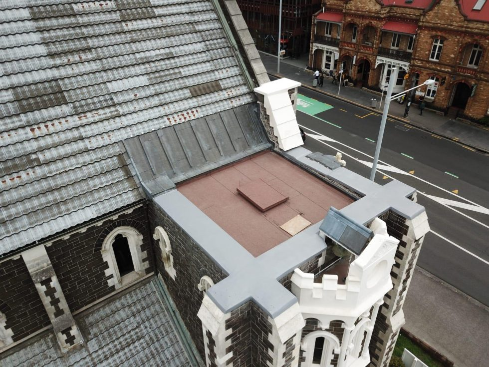 Tower Roof After Completion